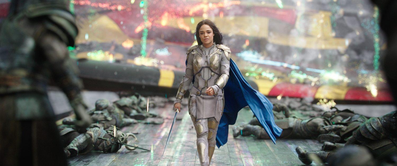 Tessa Thompson as Valkyrie in 'Thor: Ragnarok.'