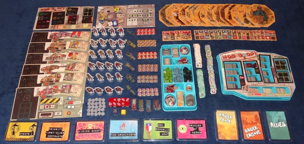 Wasteland Express components