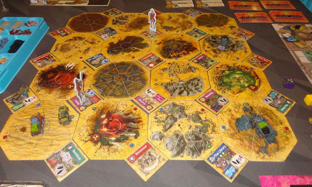 Wasteland Express game in progress
