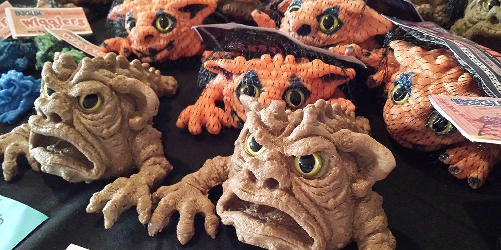 Boglins toys designed by Tim Clarke
