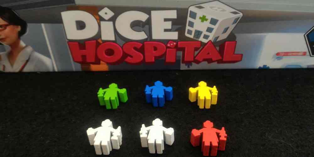 Dice Hospital Meeples