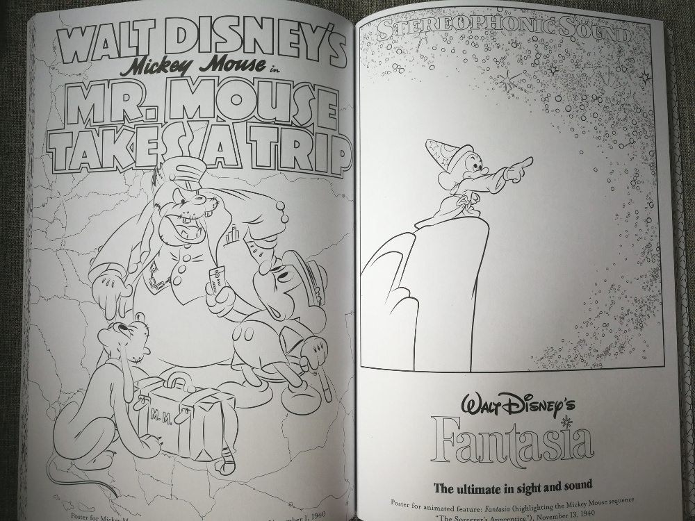 Disney Coloring book pages