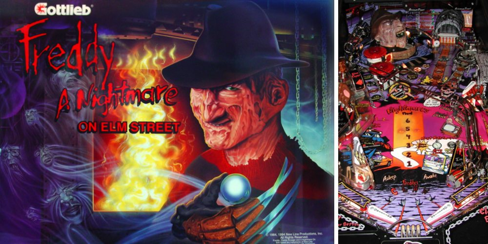 Freddy: A Nightmare on Elm Street Pinball