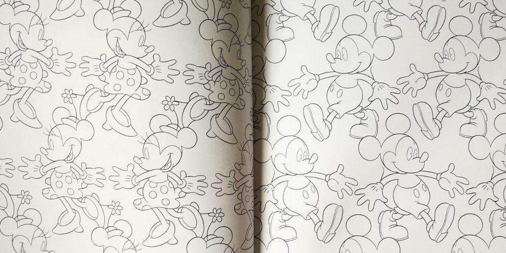 Disney coloring book, Mickey & Minnie