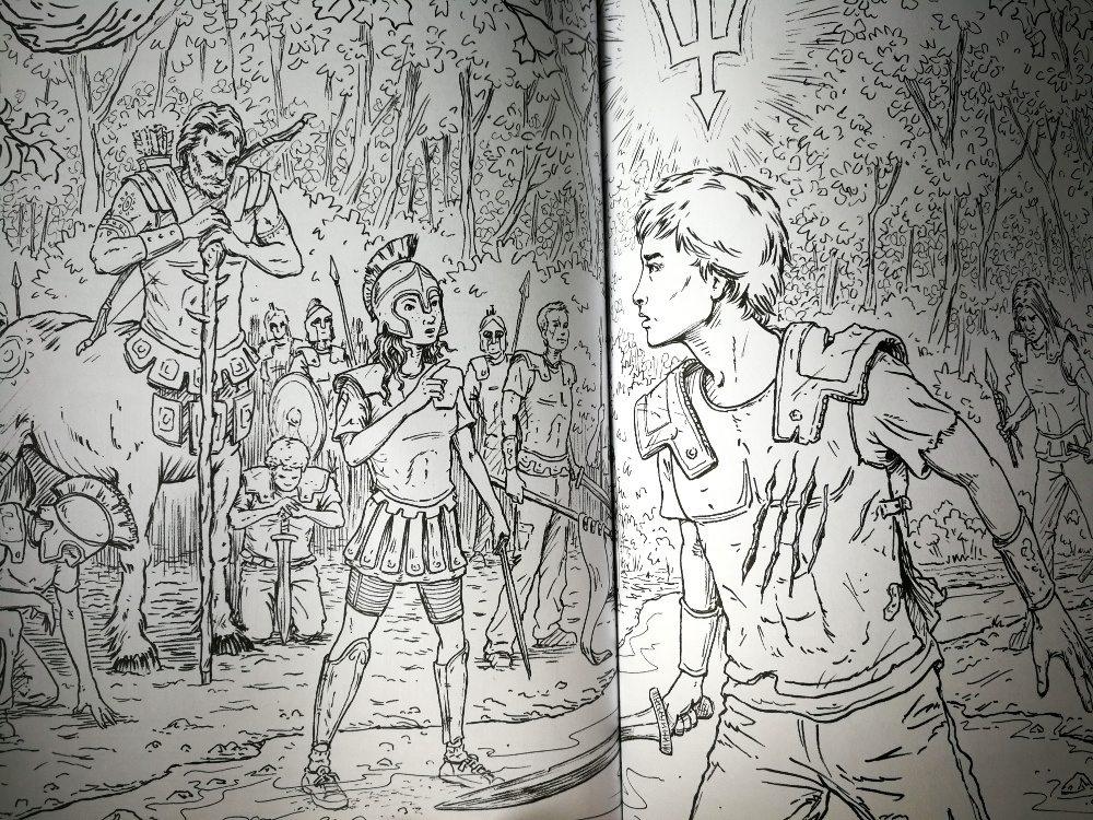 Percy Jackson Coloring Book
