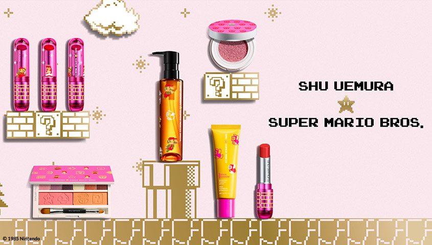 Super Mario Bros. licensed cosmetics