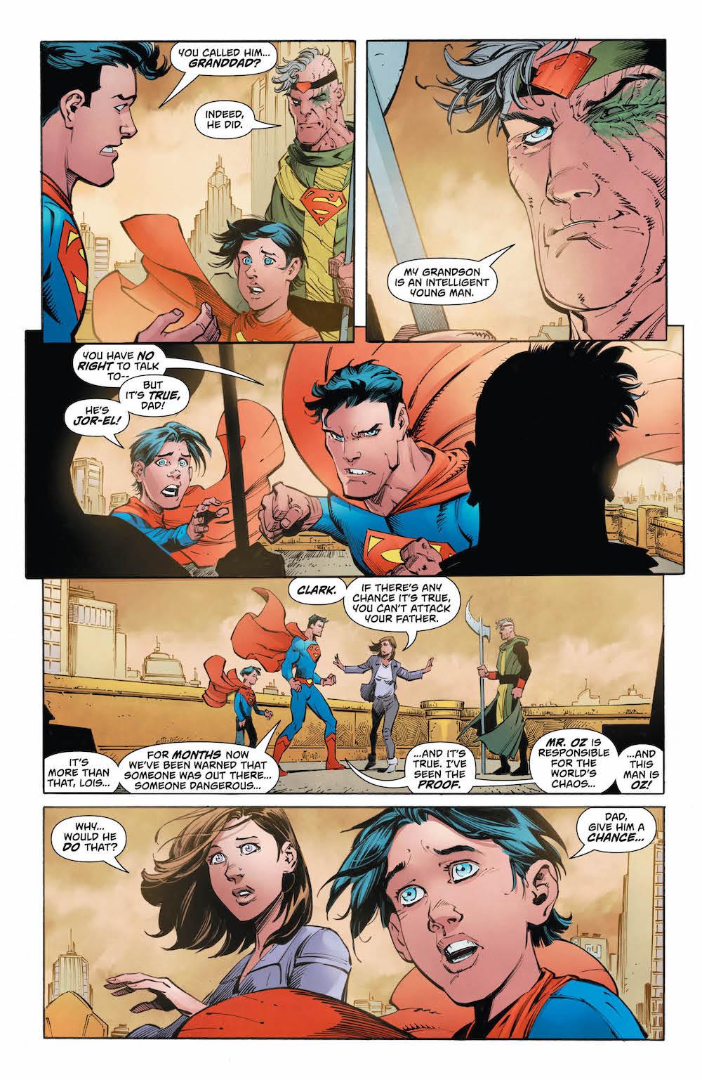 Jon Kent, Lois Lane, Superman, Jor-El, Action Comics 2017