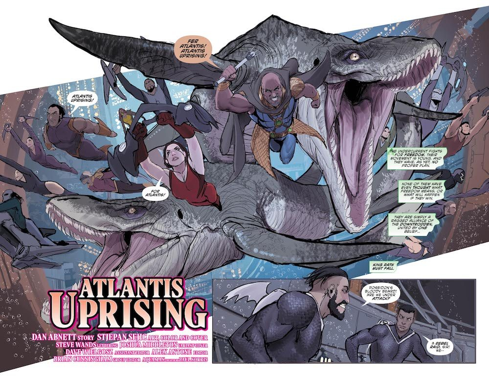 Aquaman #30, 2017