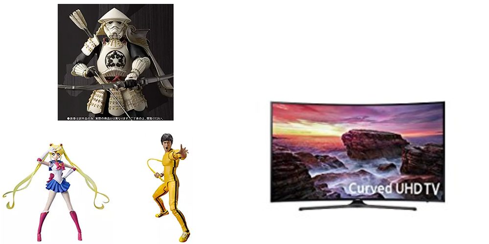 Geek Daily Deals 110417 action figures 4k tv