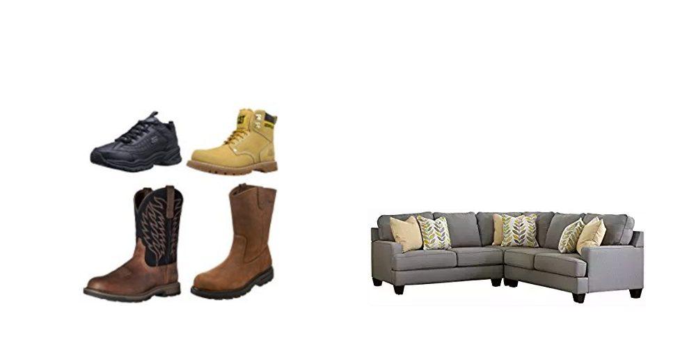 Geek Daily Deals 111417 boots furniture