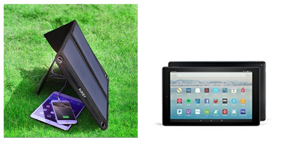 Geek Daily Deals 112117 solar charger fire tablet