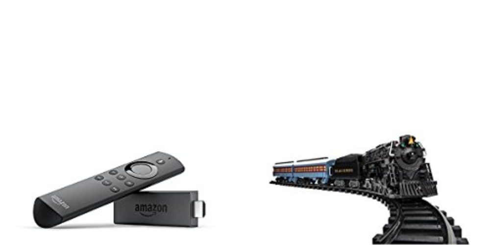 Geek Daily Deals fire stick lionel trains