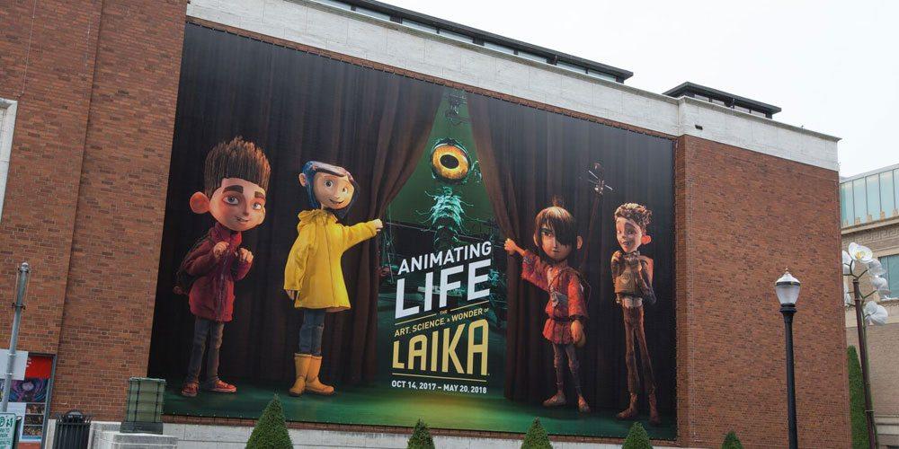 Portland Art Museum - LAIKA banner