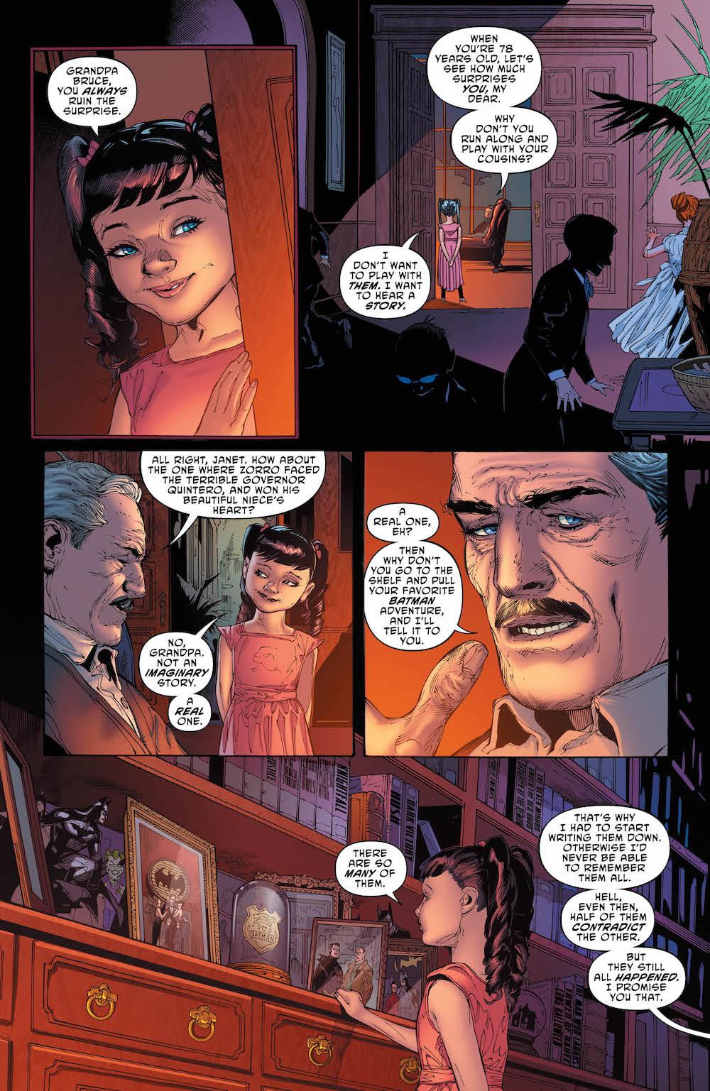 Batman: Lost, Scott Snyder