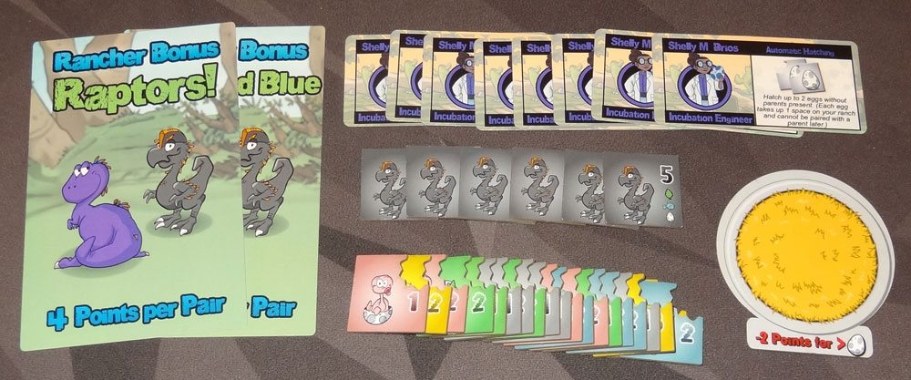 Dino Dude Ranch: Hatchlings components
