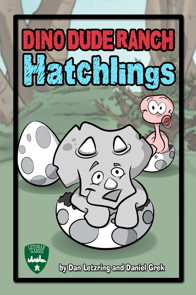 Dino Dude Ranch: Hatchlings cover