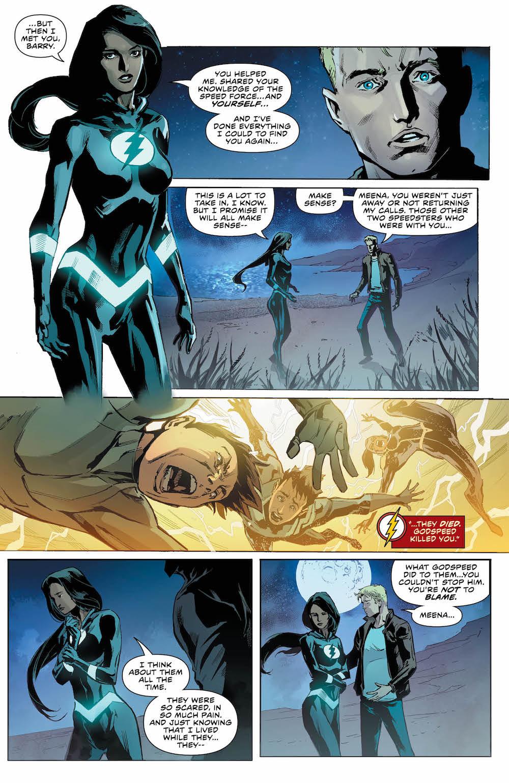 Meena, Barry Allen, Flash 2017