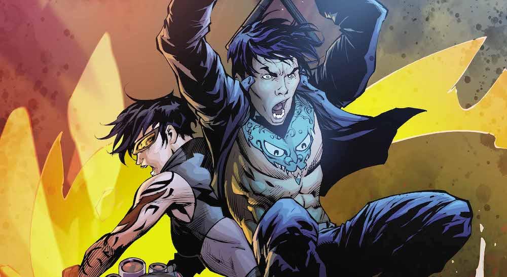 Gotham City Garage #4, Nightwing, Catwoman