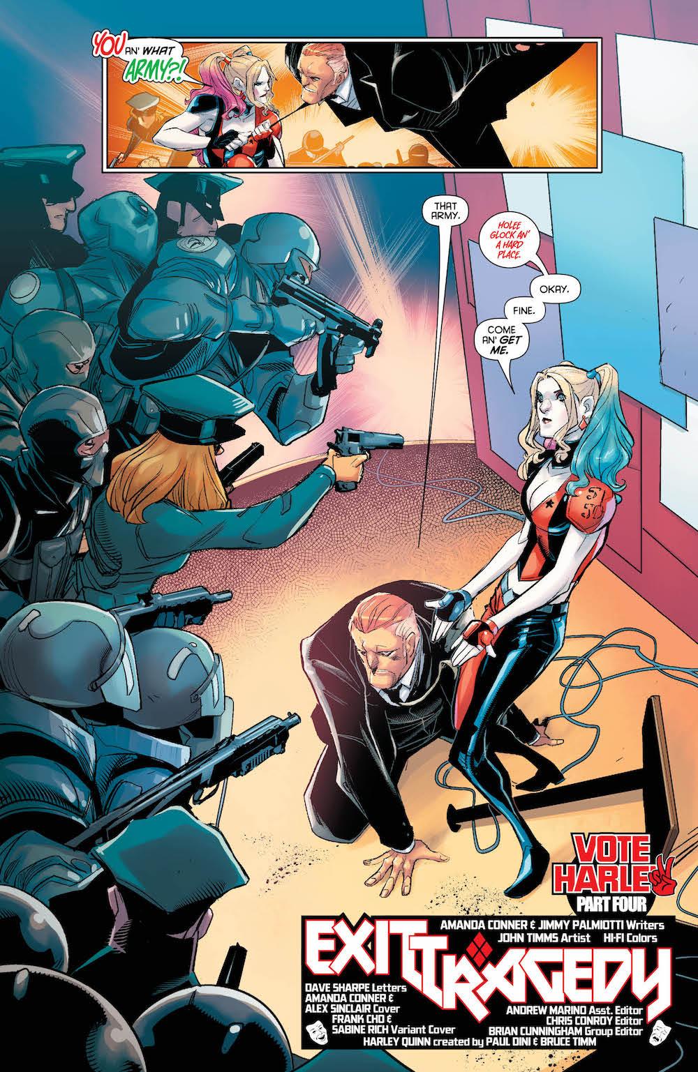 Harley Quinn 2017