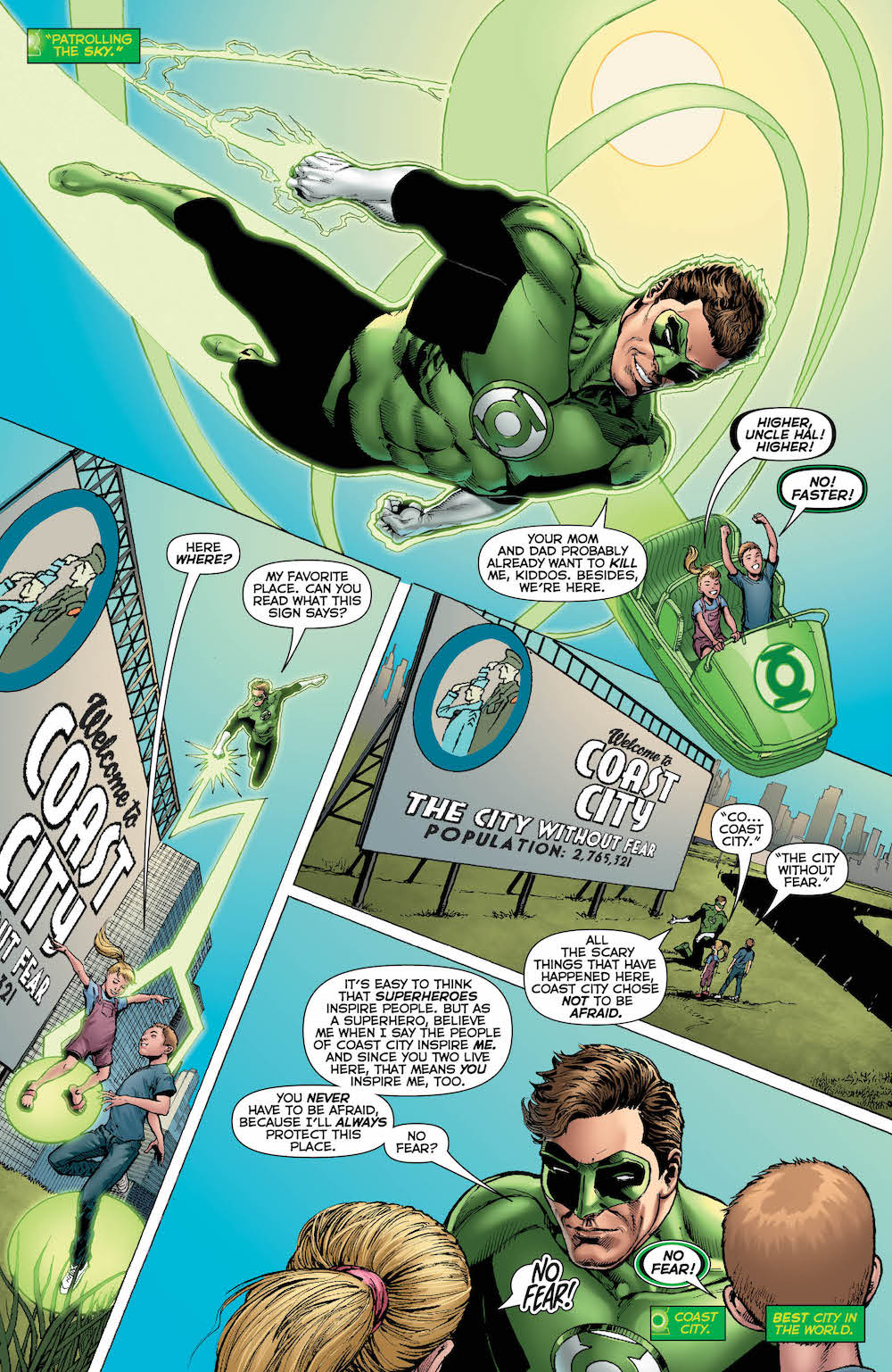 Hal Jordan & the Green Lantern Corps 2017