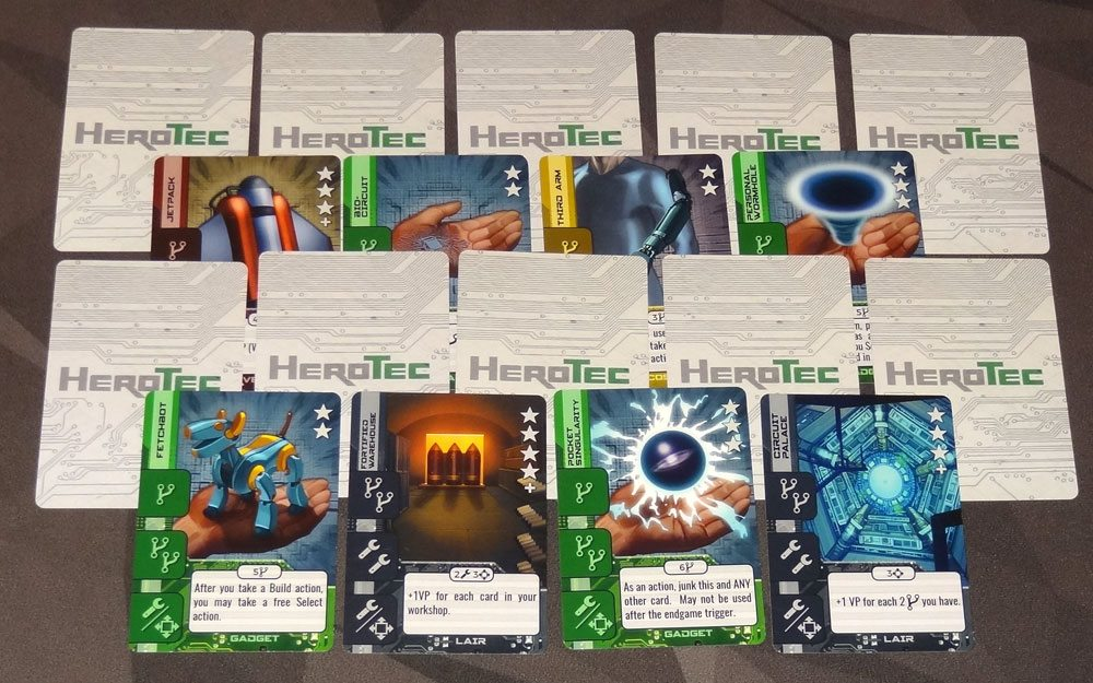 HeroTec 2-player setup