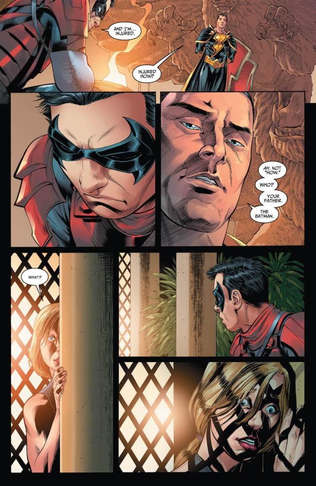 Damian Wayne, Kara Zor-el, Injustice 2 #13