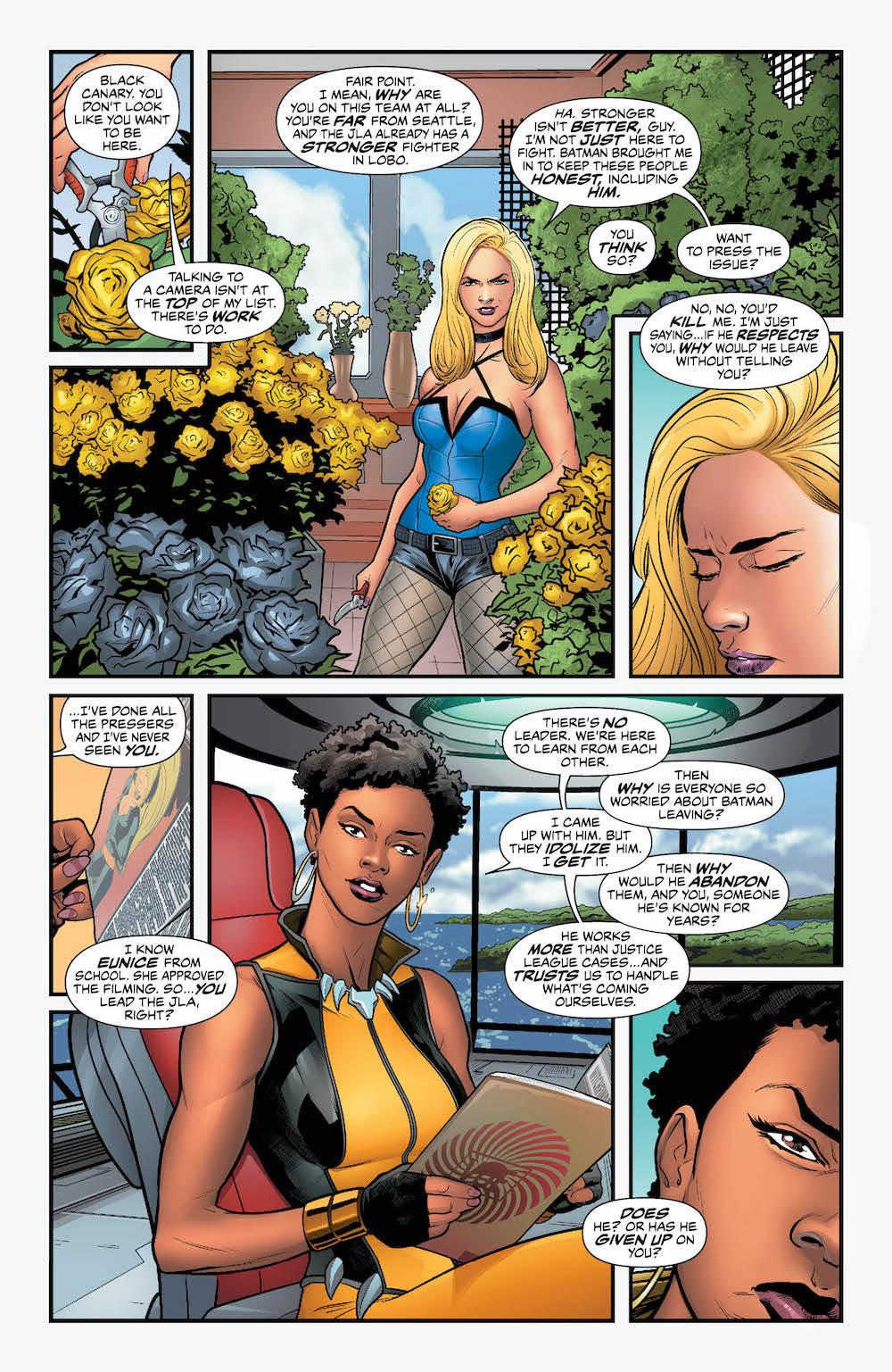 Justice League, Vixen, Black Canary 2017