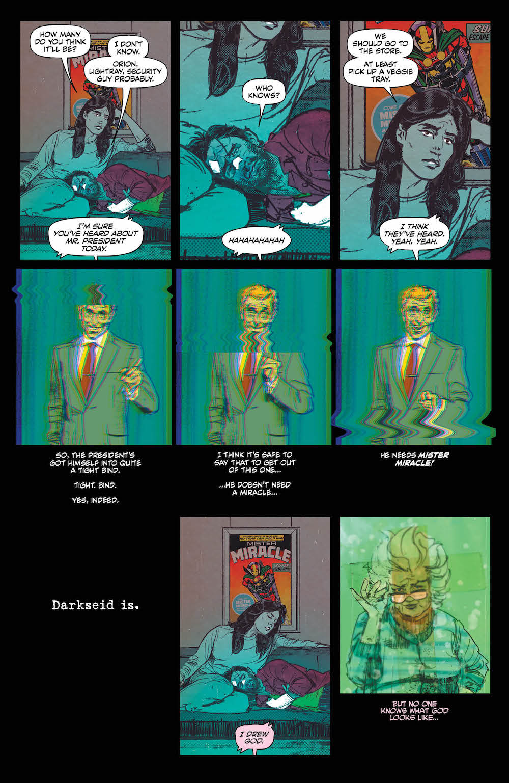 Gerards, King Mister Miracle
