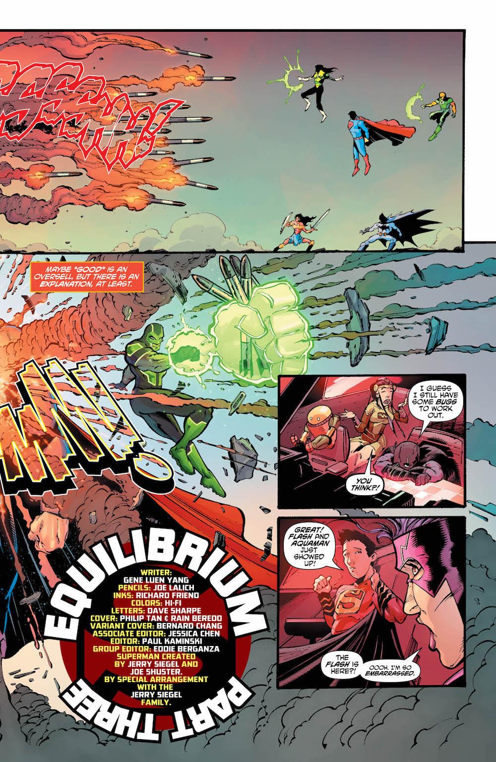 Kong Kenan, Gene Luen Yang, Justice League of China