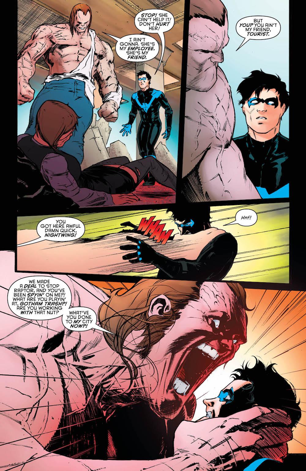 Nightwing #33, 2017
