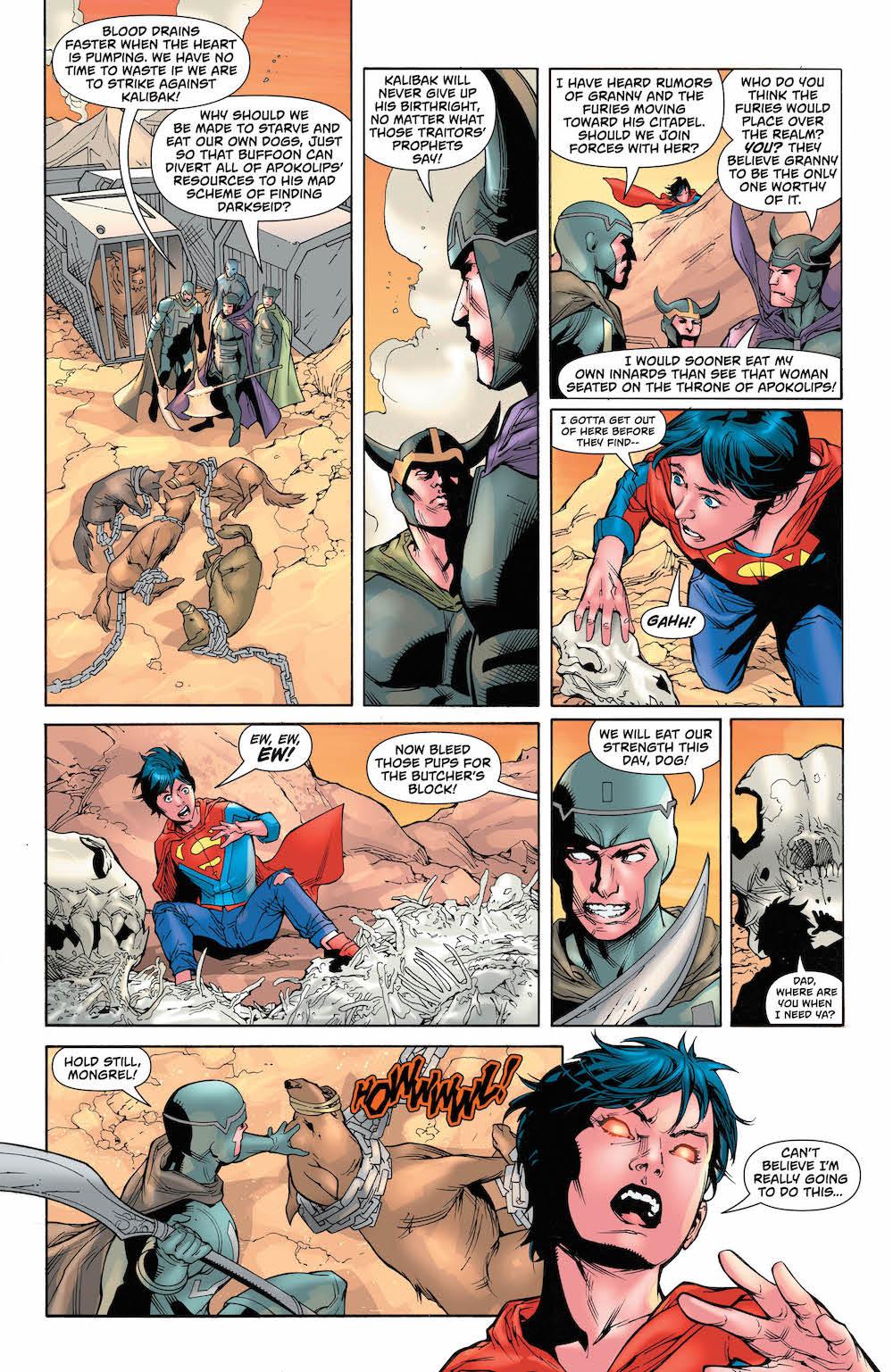 Jon Kent, Superman #35, 2017