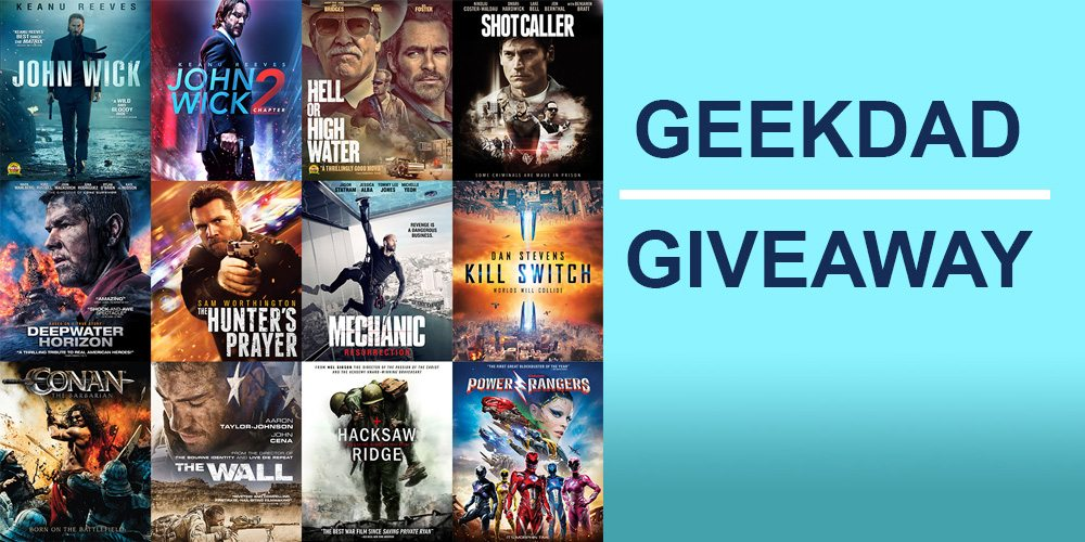 GeekDad Giveaway: Lionsgate Home Entertainment Movies