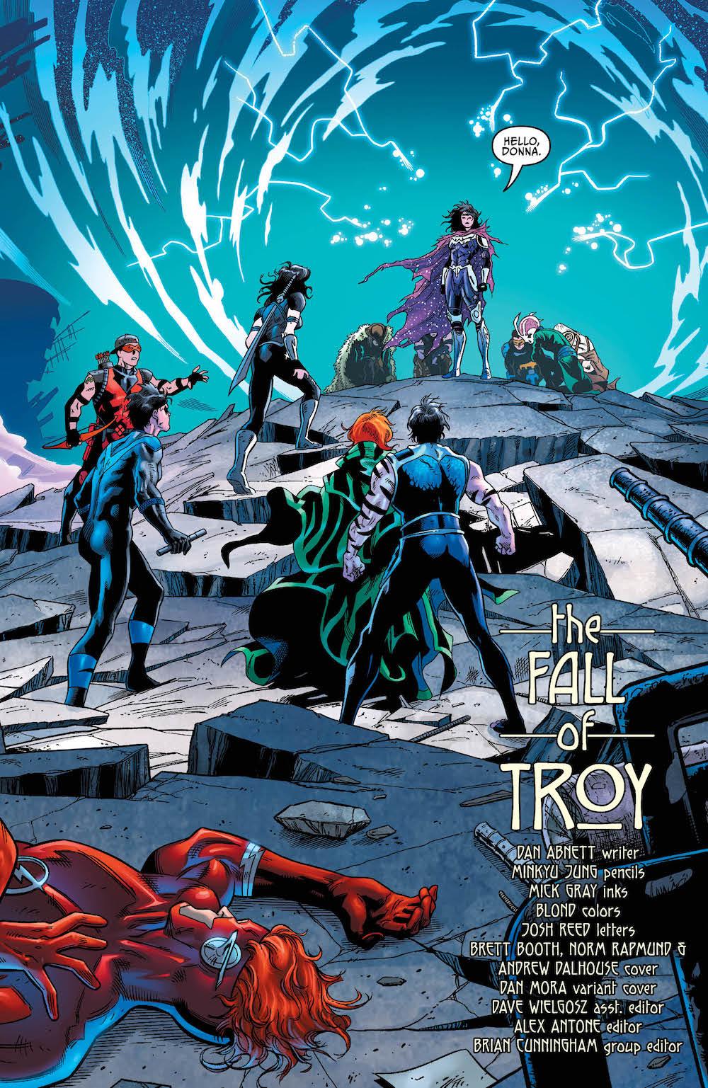 Titans, Donna Troy, Troia