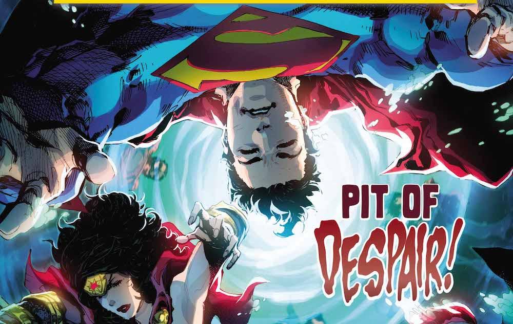 Trinity, Superman, WW, Batman, Red Hood, Artemis