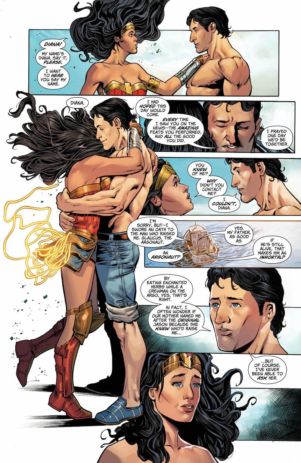 Jason, Wonder Woman