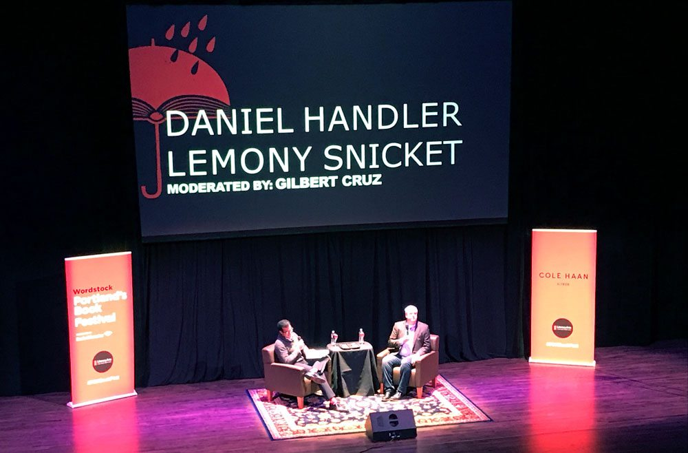 Wordstock Daniel Handler