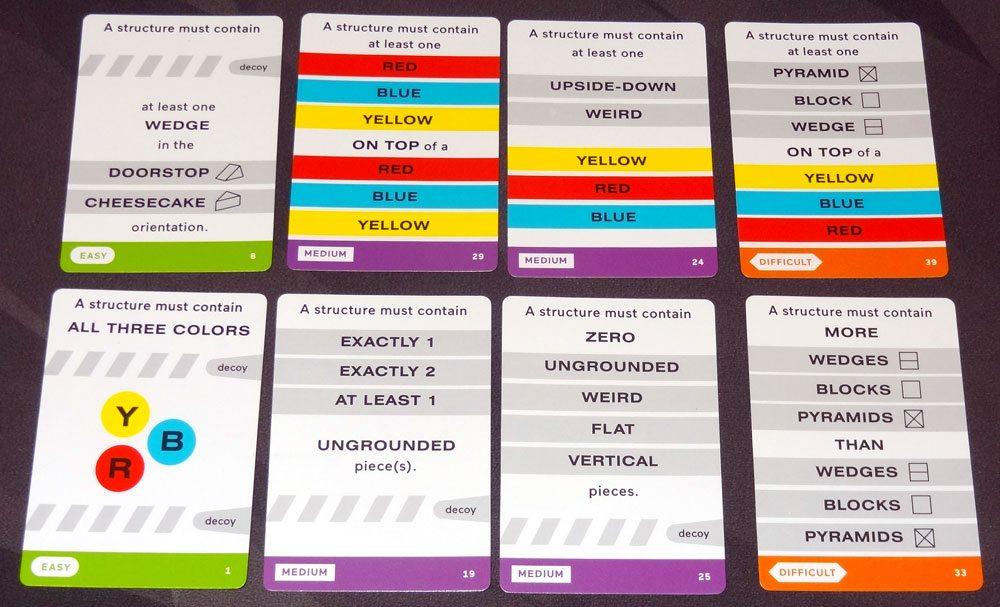 Zendo rule cards