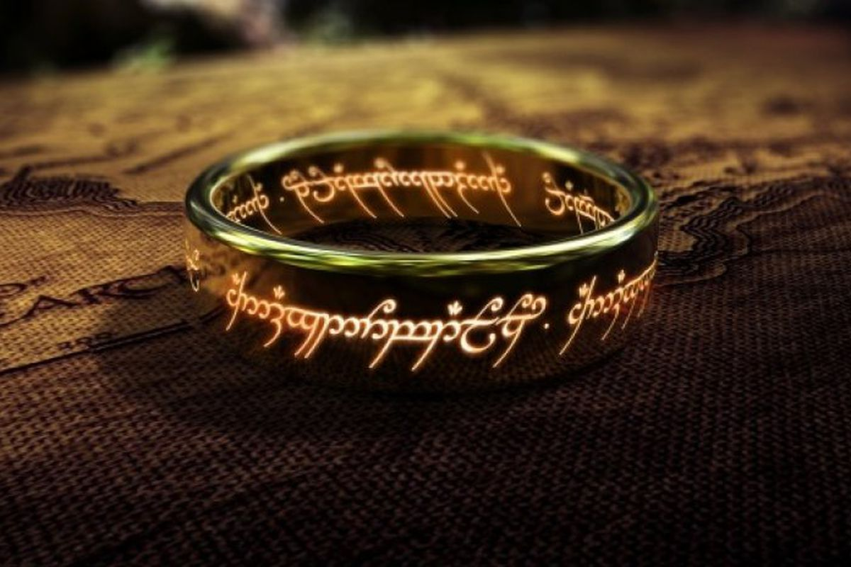 The One Ring of Power from Fellowship of the Ring