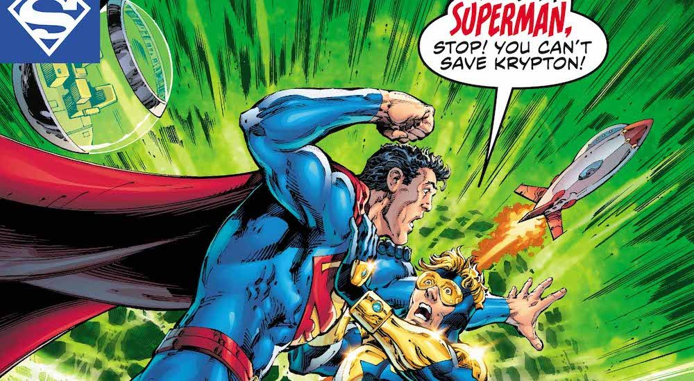 Superman, Booster Gold, Action Comics 993