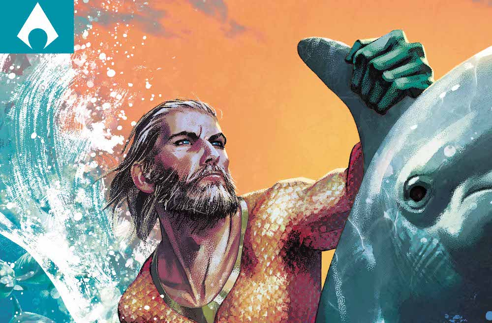 Aquaman #32 variant cover