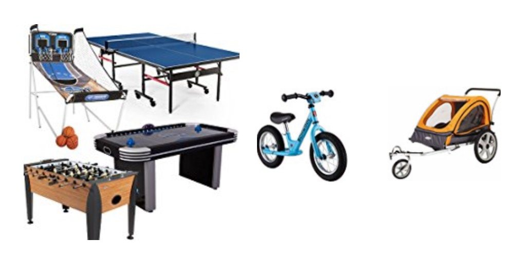 Geek Daily Deals 120317 game tables bicycles