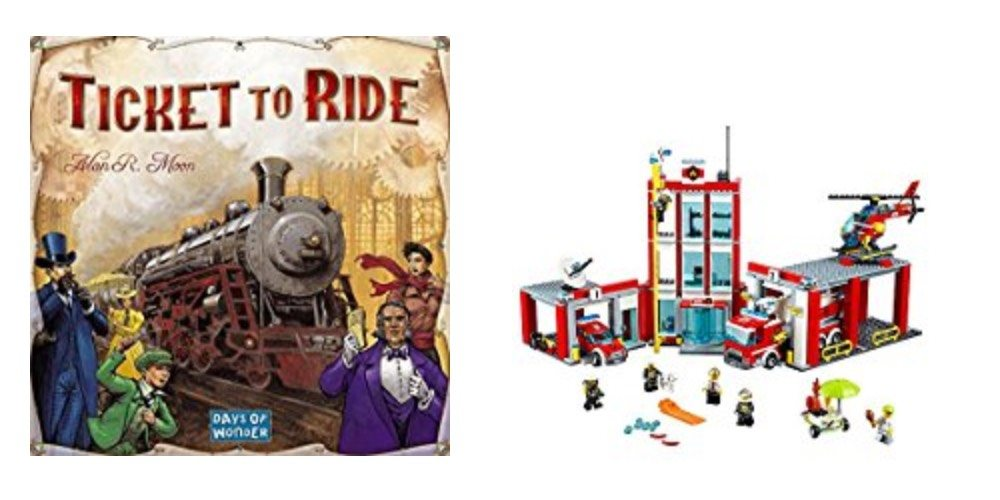Geek Daily Deals 120717 tabletop games LEGO city