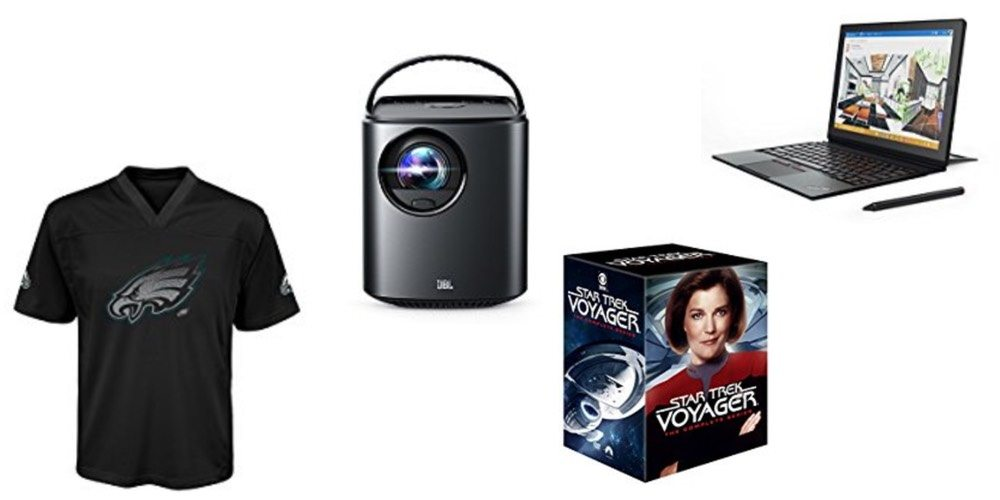 Geek Daily Deals 121017 NFL Gear Mars Home Theater Star Trek Box Sets Lenovo