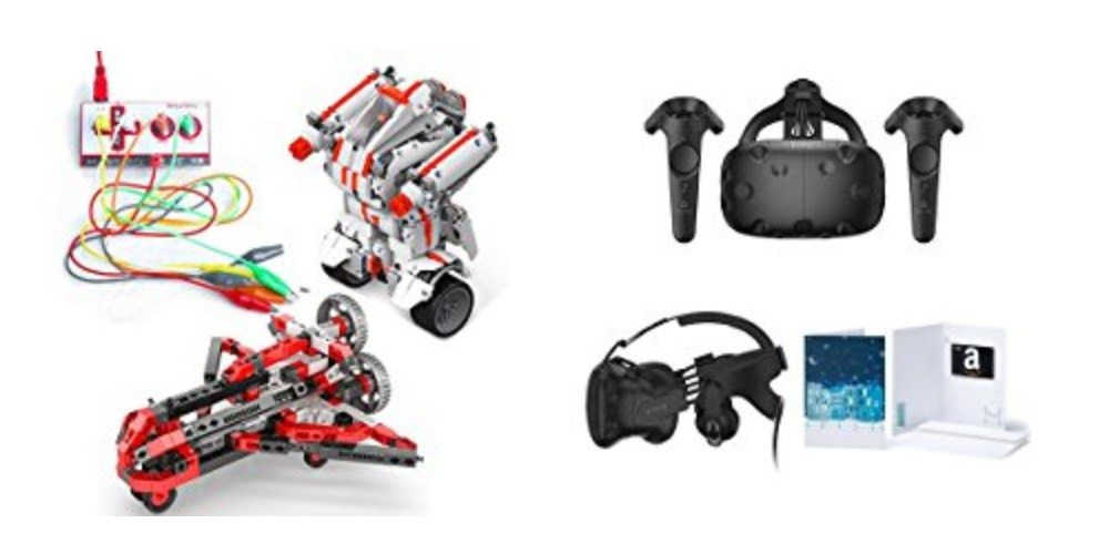 Geek Daily Deals 121117 STEM toys HTC Vive