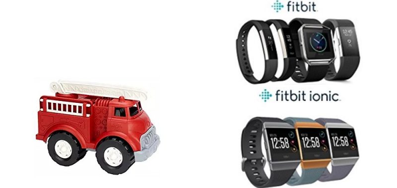 Geek Daily Deals 121217 green toys fitbit
