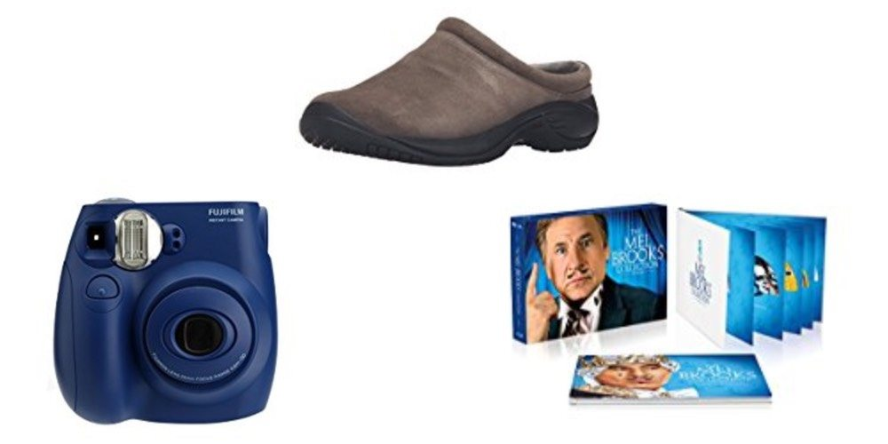 Geek Daily Deals 122017 fuji instant camera merrell shoes mel brooks