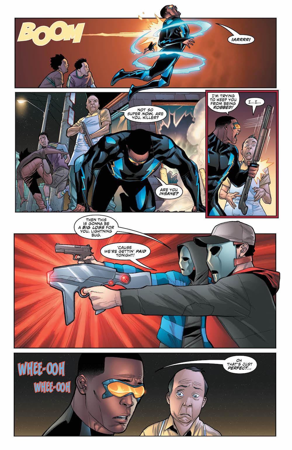 Black Lightning Cold Dead Hands #2 page