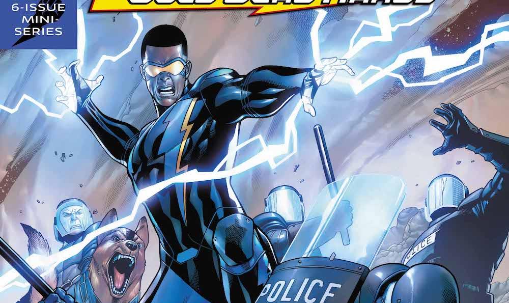 Black Lightning Cold Dead Hands #2, young Jefferson Pierce