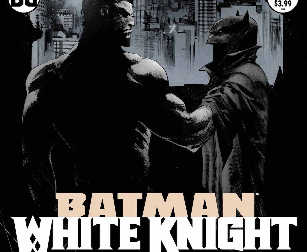 Batman: The White Knight #3 cover, Murphy