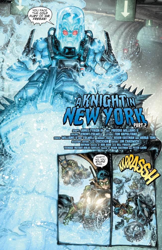 Batman/Teenage Mutant Ninja Turtles 2 #2, page 4